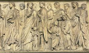 ara pacis - Imperial Procession