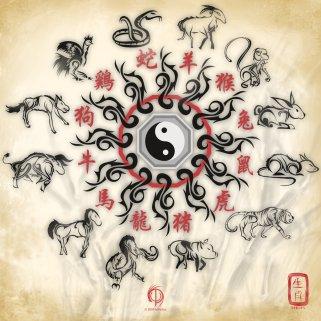 CHINESE ZODIAC_PAINTING